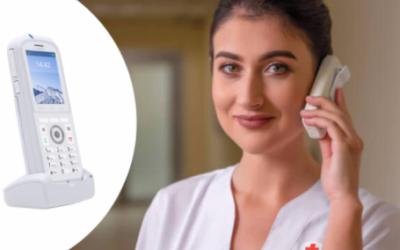 Wildix W-AIR Med Il telefono antibatterico che protegge salute e business